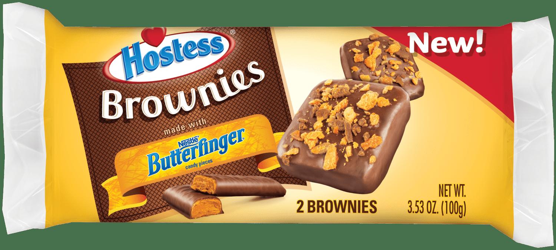 Hostess Butterfinger Brownies Packaging