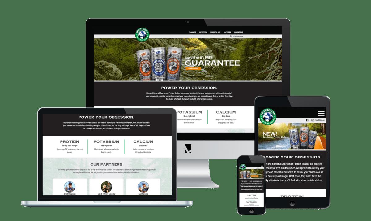 Sportsman Web Design