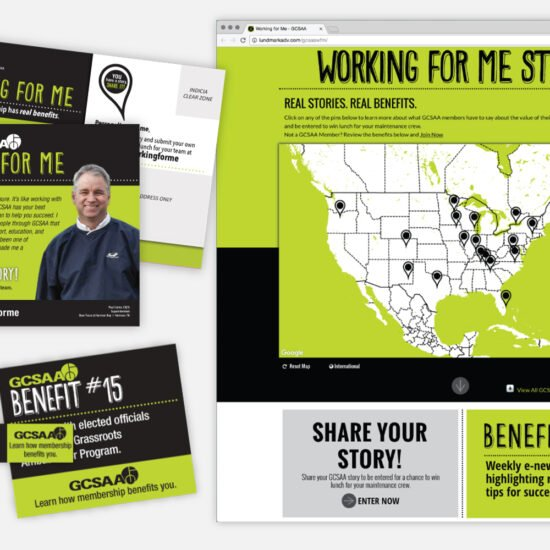 GCSAA Print & Digital Campaign