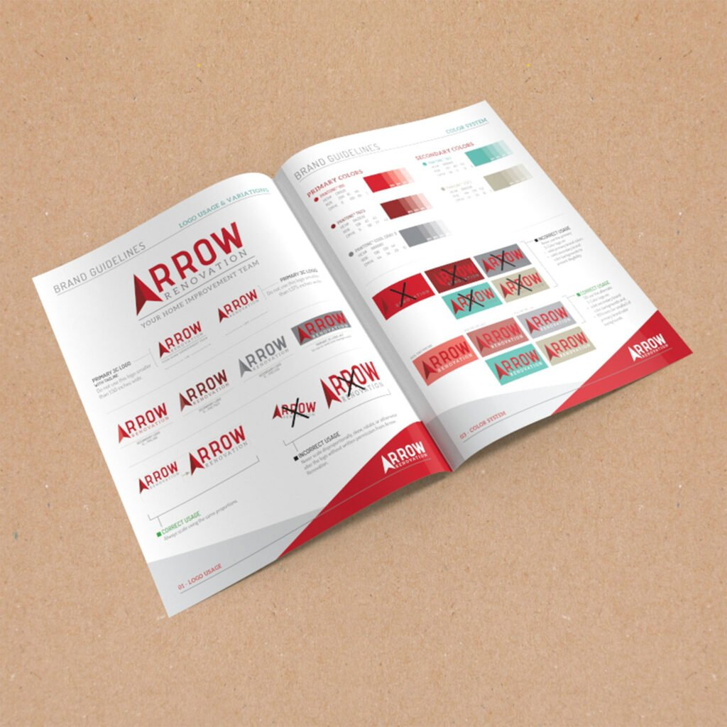 Arrow Renovation Branding Guidelines